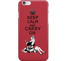 Queen Victoria Riding iPhone Case/Skin