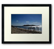 Hamelin Bay Western Australia Framed Print
