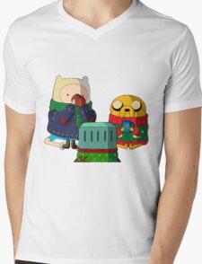 a christmas adventure Mens V-Neck T-Shirt
