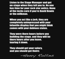 Henry Rollins - Backstage by nager81