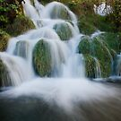 Fantasy Cascading Waterfall, Croatia by Jennifer Standing