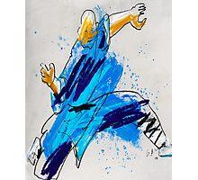 Shaolin Monk 12_TIGER Photographic Print