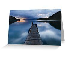New Zealand – Lake Tarawera, Rotorua Greeting Card