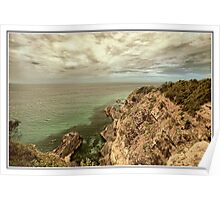 Bennets Head lookout Forster Poster