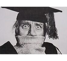 Spike Milligan Photographic Print