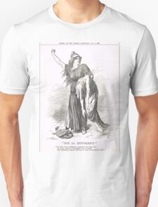 Vive La Republique Punch cartoon 1894 Unisex T-Shirt