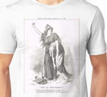 Vive La Republique Punch cartoon 1894 Unisex T-Shirt