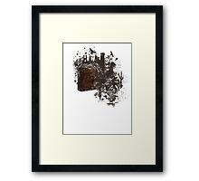 Screw Reality  Framed Print