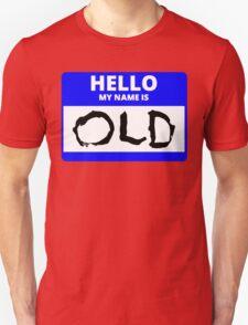 ZOOLANDER 2 HELLO MY NAME IS OLD DEREK Unisex T-Shirt
