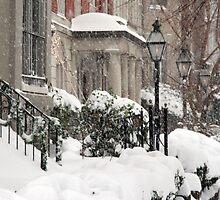 Snow On R Street by Cora Wandel
