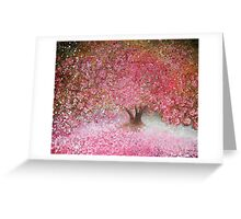 Completely blossom Greeting Card