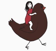 Bird Girl Kids Clothes