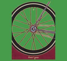 Single Speed Bicycle Baby Tee