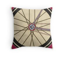 Single Speed Bicycle Throw Pillow