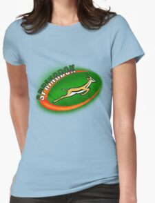SPRINGBOK RUGBY SOUTH AFRICA Womens Fitted T-Shirt