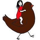 Bird Girl by Hannah Baker - Jamface