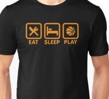 Eat Sleep Play Basketball Unisex T-Shirt