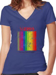 Dick Smith VZ200 Women's Fitted V-Neck T-Shirt