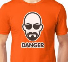 Heisenberg I am the danger Unisex T-Shirt