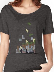 MineTetris Women's Relaxed Fit T-Shirt