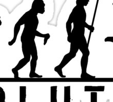 Soccer Evolution Sticker