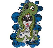 Octo Skull Girl Photographic Print