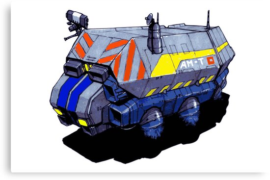 ROBOTIK TRUCK by spacemonster