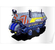 ROBOTIK TRUCK Poster