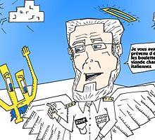 Euroman et Dr Koop caricature news options binaires by Binary-Options