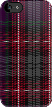00370 Isle of Arran Tartan Fabric Print Iphone Case by Detnecs2013