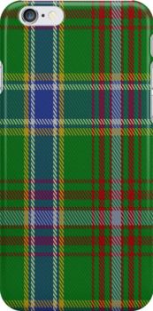 00372 Currie of Arran Family Tartan Fabric Print Iphone Case by Detnecs2013