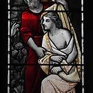 Jesus & Jonh the Baptist by Karo / Caroline Evans (Caux-Evans)