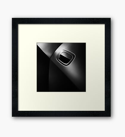 Black Beauty Framed Print