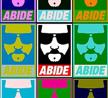 Abide - Pop Art by BevsUK