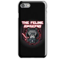 The Feline Awakens iPhone Case/Skin