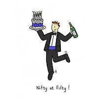 Nifty at 50. Photographic Print
