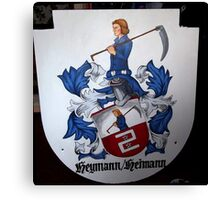 Coat of Arms (painting) Canvas Print
