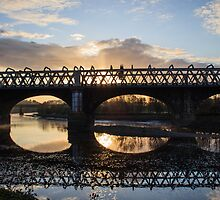 Railway Bridges of Preston by walksindreams