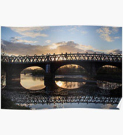 Railway Bridges of Preston Poster
