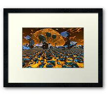 Up On The Sun Framed Print
