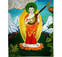 Indrashakra Thangka  Photographic Print