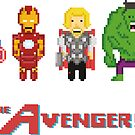 The 8-Bit Avengers by MezzMerritt