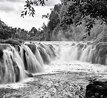Waterfall in Laos by johnxmas