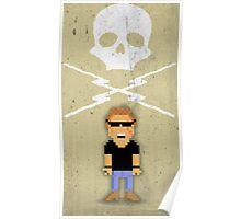 Death Proof Pixel Poster