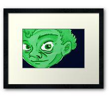 Le Trickster Framed Print