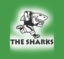 NATAL SHARKS FOR LIGHT SHIRTS SOUTH AFRICA RUGBY SUPER RUGBY Kids Tee