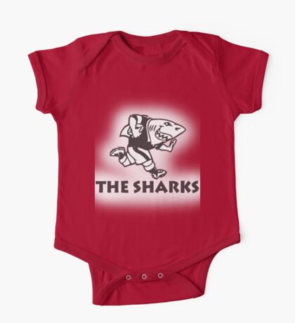 NATAL SHARKS FOR LIGHT SHIRTS SOUTH AFRICA RUGBY SUPER RUGBY One Piece - Short Sleeve
