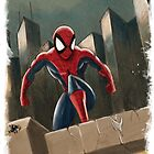 Spidey by tsantiago