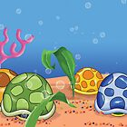 Turtle Shells by tsantiago