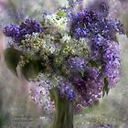 Lilacs Of Love by Carol  Cavalaris